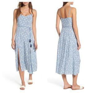 Love, Fire Floral Print Maxi Dress Size Large